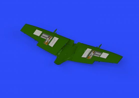 Spitfire Mk.XVI gun bays 1/72  - 1