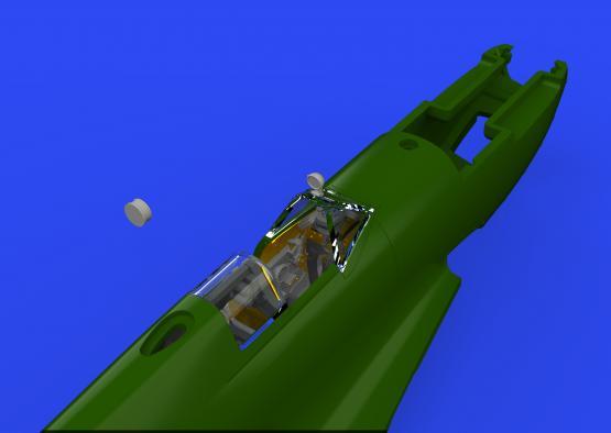 Spitfire Mk.VIII cockpit 1/72  - 1