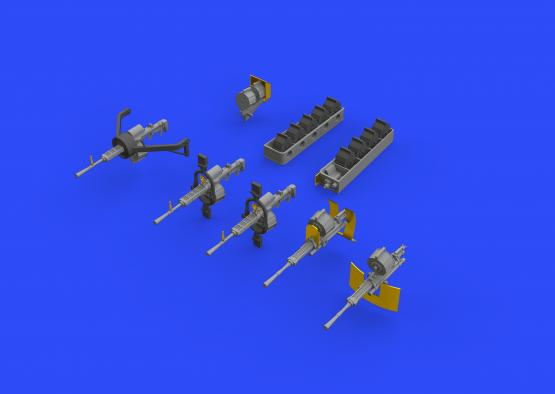 H8K2 Emily guns 1/72  - 1