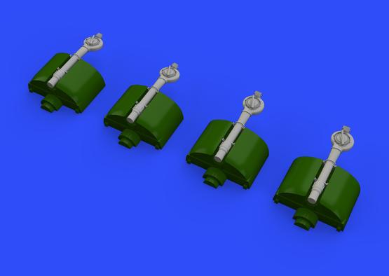B-24 turbochargers 1/72  - 1
