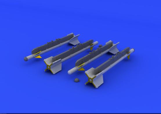 R-3S rakety pro MiG-21 1/72  - 1