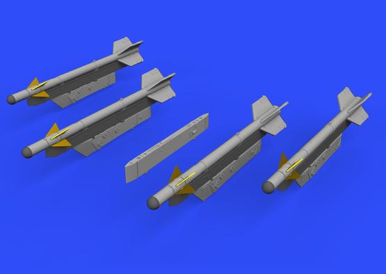 MiG-21用R-3S ミサイル w/パイロン 1/72  - 1