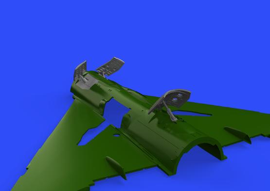 MiG-21MF airbrakes 1/72  - 1