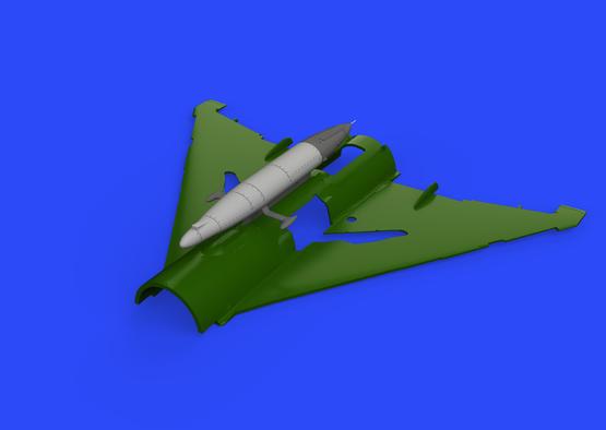 SPS-141 ECM pod for MiG-21 1/72  - 1