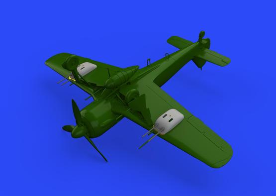 Fw 190A-5/U12 gun pods 1/72