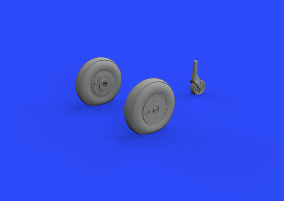 Ki-61-Id wheels 1/72  - 1