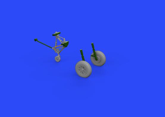 F4U wheels 1/72  - 1