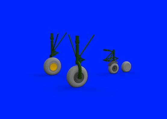 Liberator Mk.VI wheels 1/72  - 1