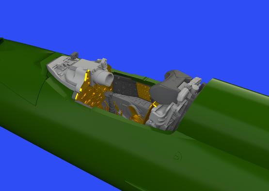 МиГ-21ПФМ кабина 1/72  - 1