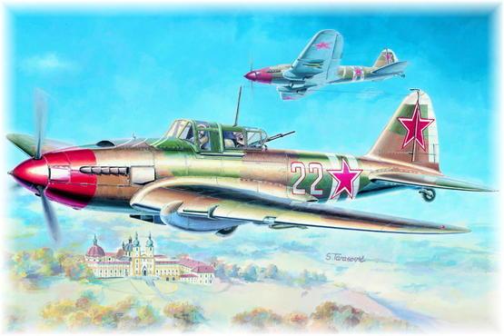 Il-2m3 Stormovik 1/72