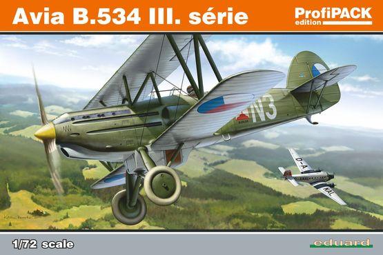 Avia B.534 III. série 1/72