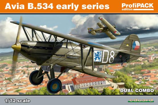 Avia B-534 rané verze DUAL COMBO 1/72