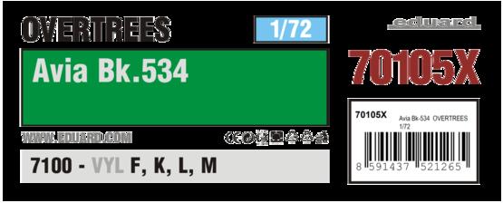 Avia Bk-534  OVERTREES 1/72