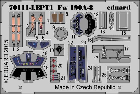 Fw 190A-8 PE-set 1/72