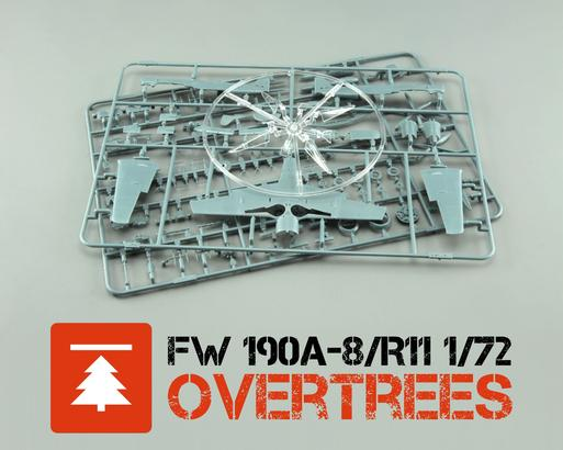 Fw 190A-8/R11  OVERTREES 1/72 1/72
