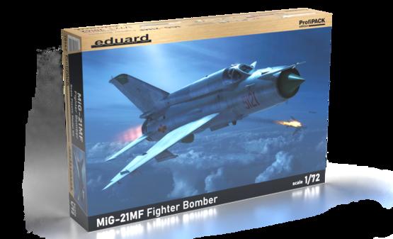 MiG-21MF Fighter-Bomber 1/72  - 1