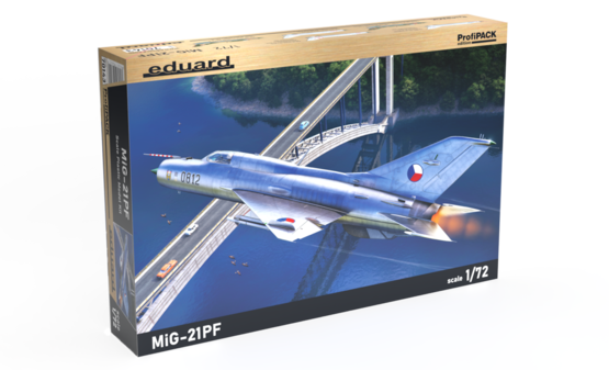 MiG-21PF 1/72  - 1