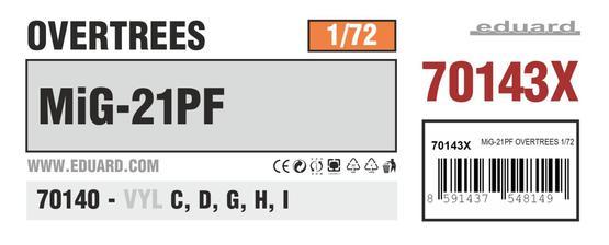 MiG-21PF オーバーツリーズ 1/72
