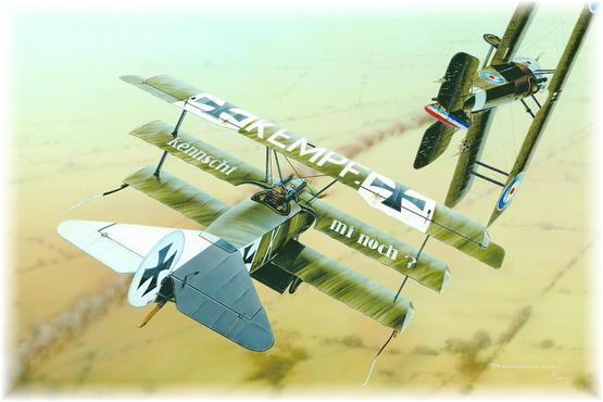 Fokker Dr.I PROFIPACK 1/72