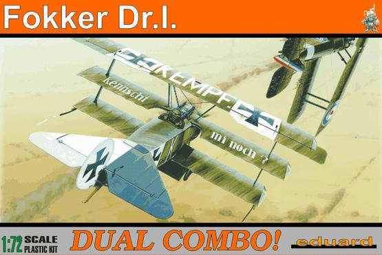 Fokker Dr.I DUAL COMBO 1/72
