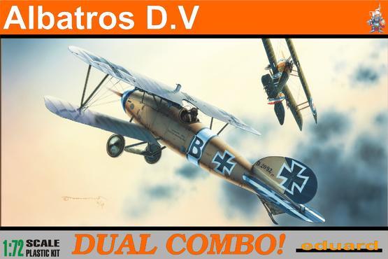 Albatros D.V DUAL COMBO 1/72