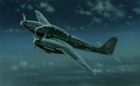 Me 410 Schnellbomber 1/72