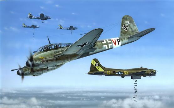 Me 410 Zerstorer PROFIPACK 1/72