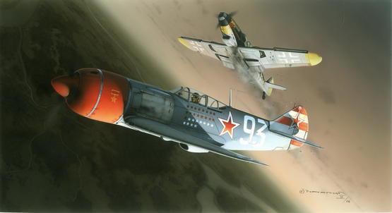 Lavochkin La-7 DUAL COMBO 1/72