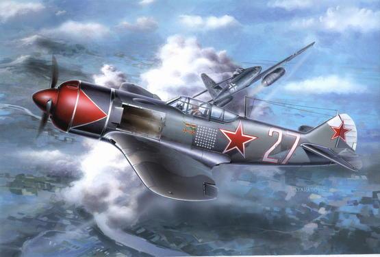 Lavochkin La-7 PROFIPACK 1/72