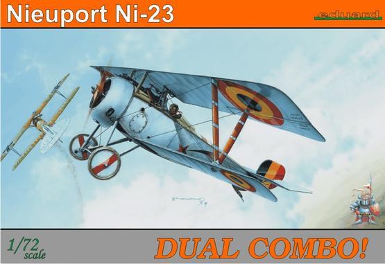 Nieuport Ni-23  DUAL COMBO 1/72