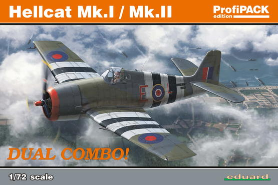 ヘルキャット Mk.I / Mk.II デュアルコンボ 1/72
