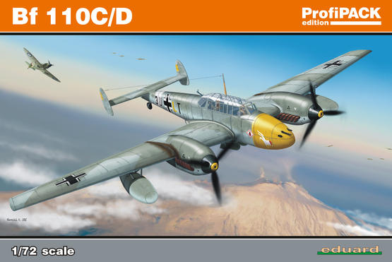 Bf 110C/D 1/72