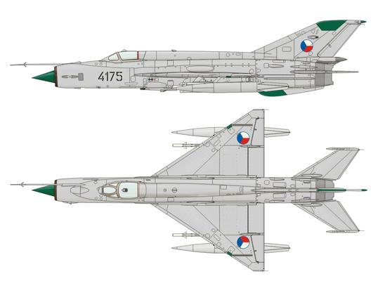 MiG-21MFN 1/144