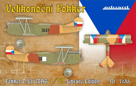 Fokker D.VII Library Edition 1/72