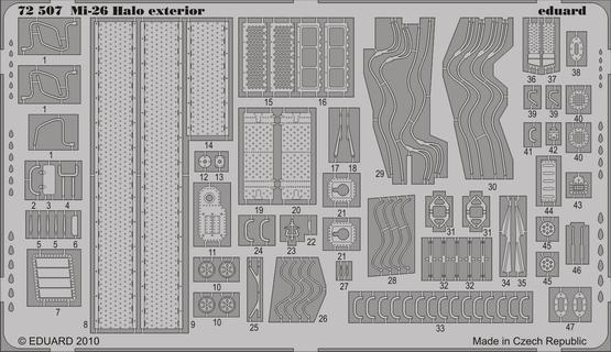 Mi-26 Halo exteriér 1/72