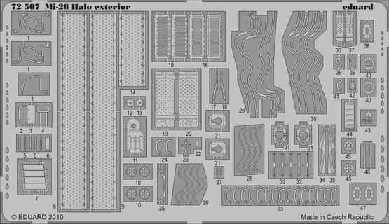 Mi-26 Halo exterior 1/72