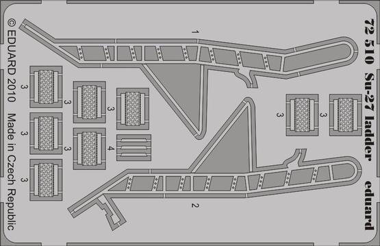 Su-27 ladder 1/72