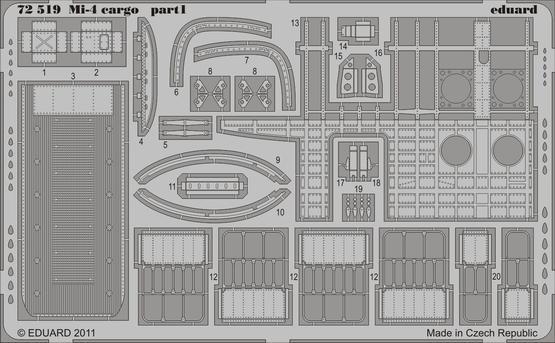 Mi-4 cargo 1/72  - 1