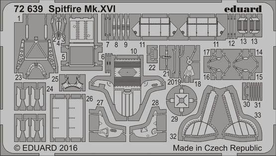 Spitfire Mk.XVI 1/72