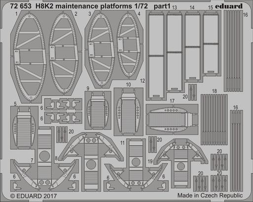 H8K2 maintenance platforms 1/72  - 1