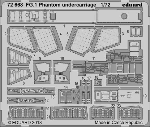 FG.1 Phantom undercarriage 1/72