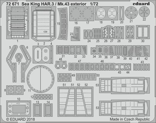Sea King HAR.3 / Mk.43 exterior 1/72