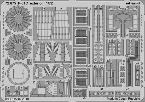 P-61C exterior 1/72