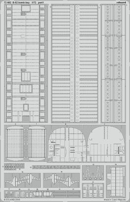 B-52 爆弾倉 1/72  - 1
