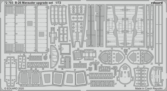 B-26 Marauder upgrade set 1/72