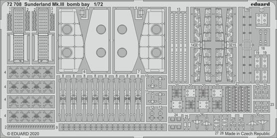Sunderland Mk.III bomb bay 1/72