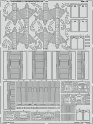 Sunderland Mk.III maintenance platforms 1/72