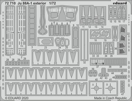 Ju 88A-1 exterior 1/72
