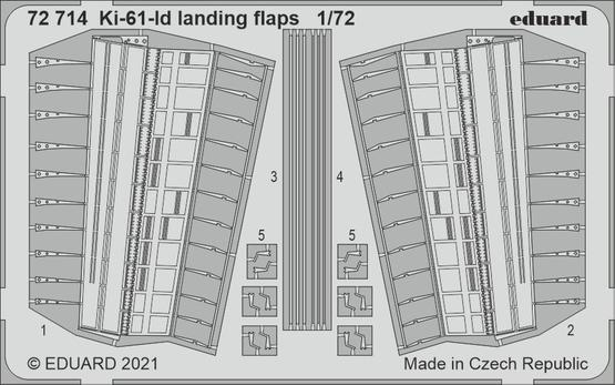 Ki-61-Id landing flaps 1/72