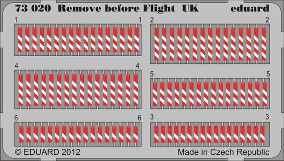 Remove before flight UK 1/72